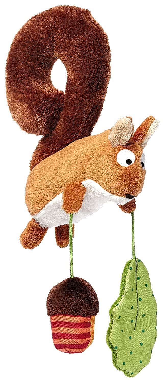 sigikid Squirrel Textile Clip Mobile for Car Seat