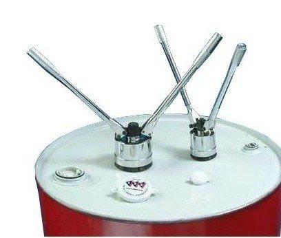 sealing machine Capper Crimper for 200L oil drums 70mm and 35mm