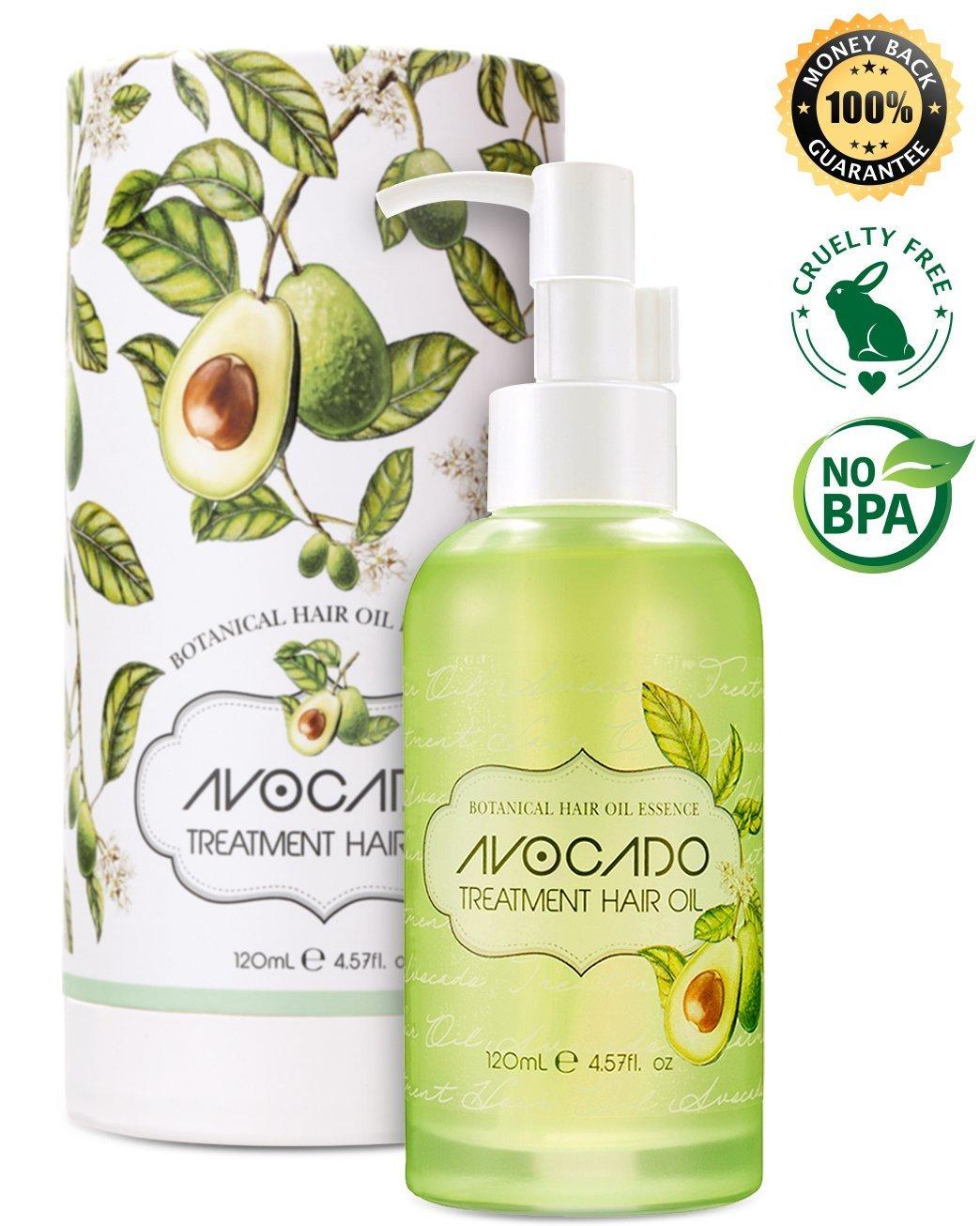 Avocado hair treatment hair oil hair serum Korean Cruelty free