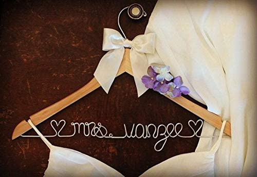Personalized Wedding Hangers for Bridal Party Gifts and Mementos Gift for Bridal Party Gift for Bride Gift for Engagement Dress