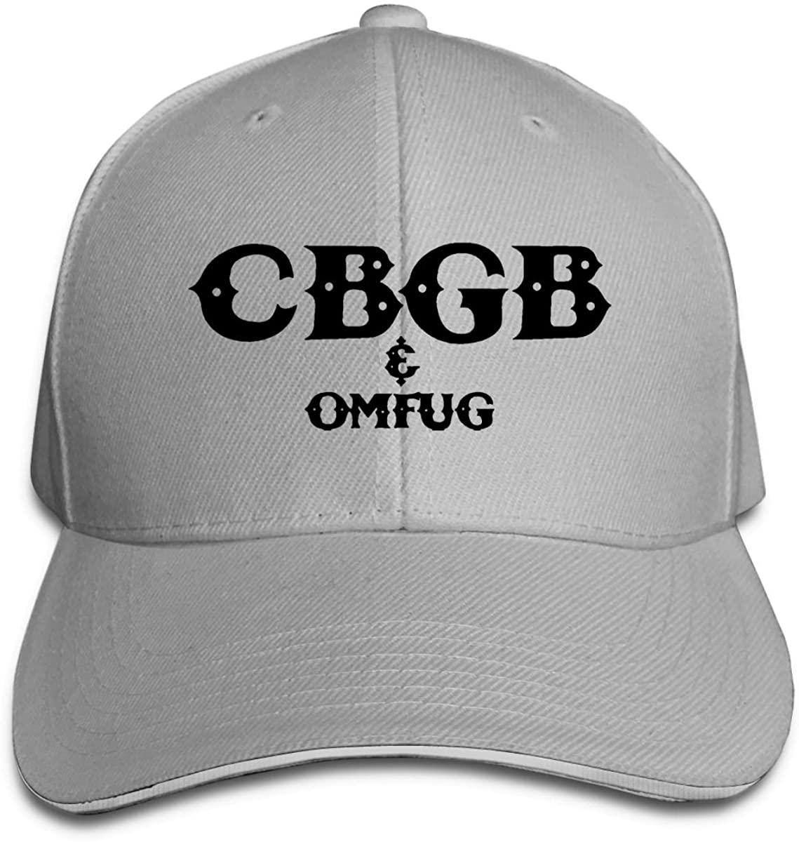 CBGB All-Match Casual Sunshade Cap, Adjustable