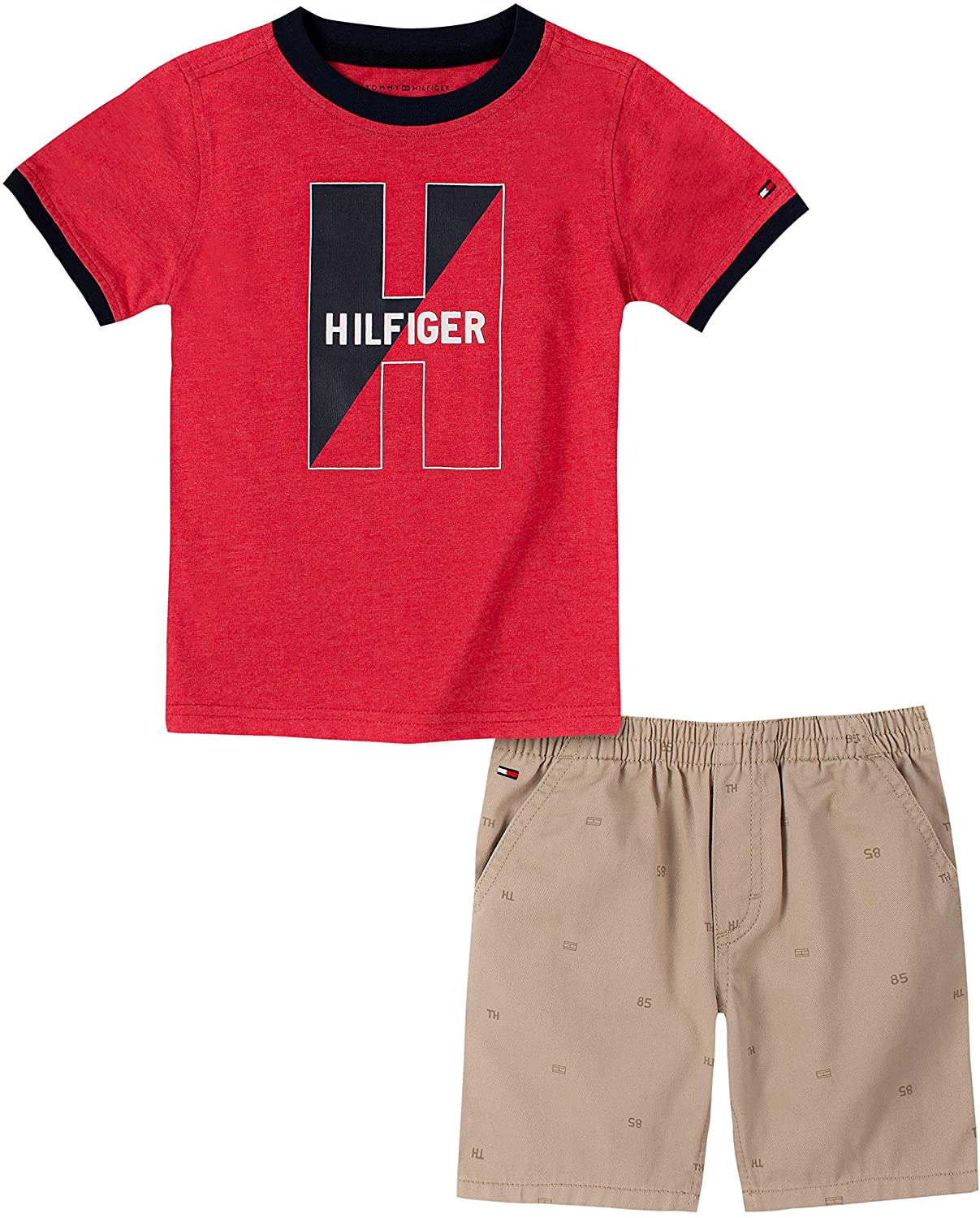 Tommy Hilfiger Baby Boys' 2 Pieces Shorts Set