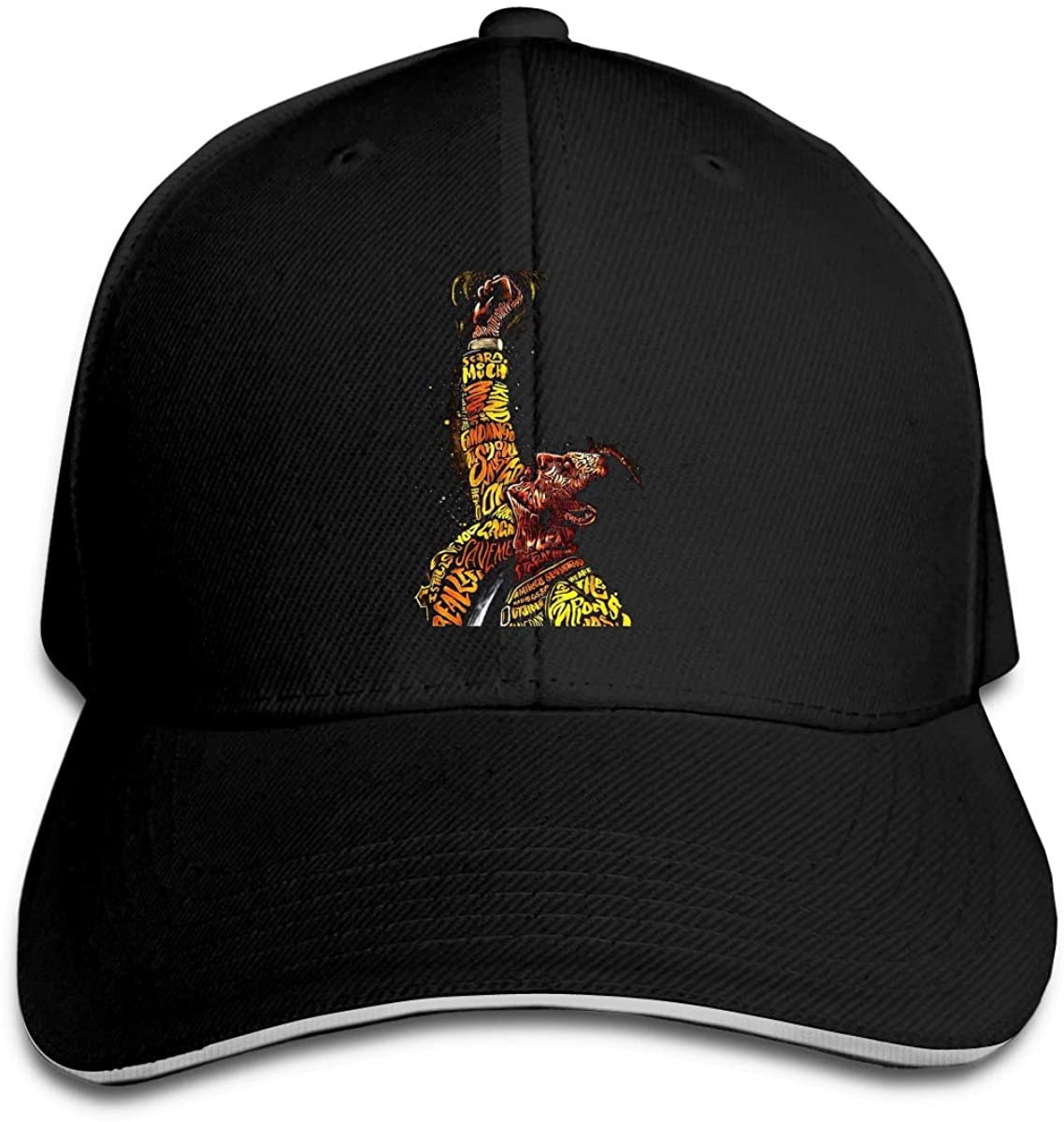 Queen Rock Band Classic Baseball Cap Unisex Cotton Adjustable Hat for Kids Teens Adults