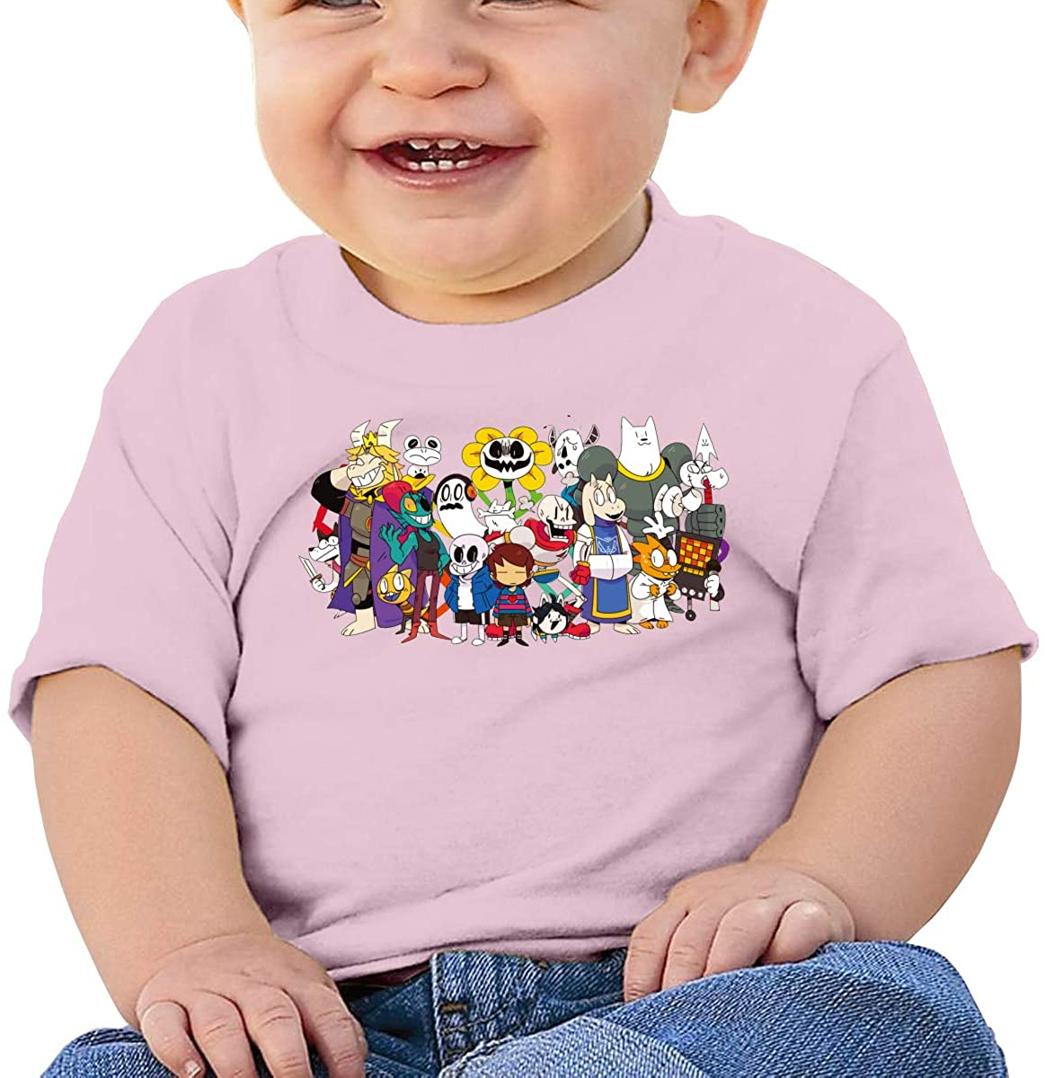 Baby T-Shirt Cute Infant Home Undertale Graphic Toddler T Boys and Girls Soft Short Sleeve Cotton Kids Shirt