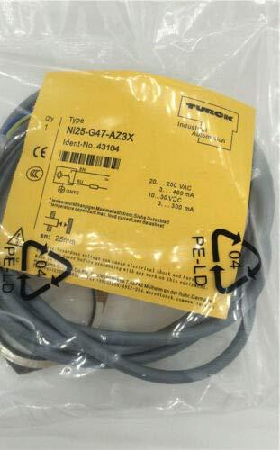 Turck Sensor Ni25-G47-AZ3X,New in Box, One Year Warranty!