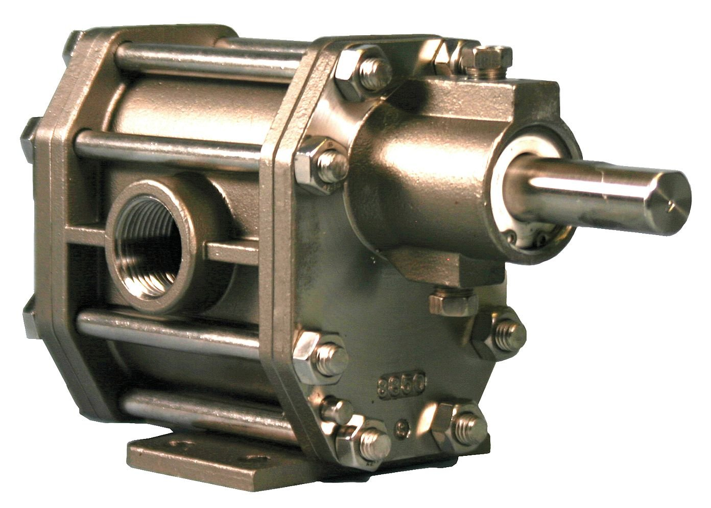 Chemsteel S20716CA-M30 316 Stainless Steel Gear Pump; Viton Seal, 4 GPM, 115/230VAC