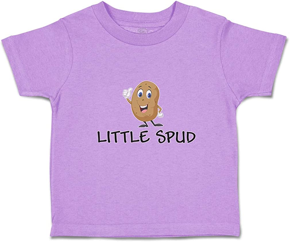 Custom Personalized Toddler T-Shirt Little Spud Cotton Boy & Girl Clothes