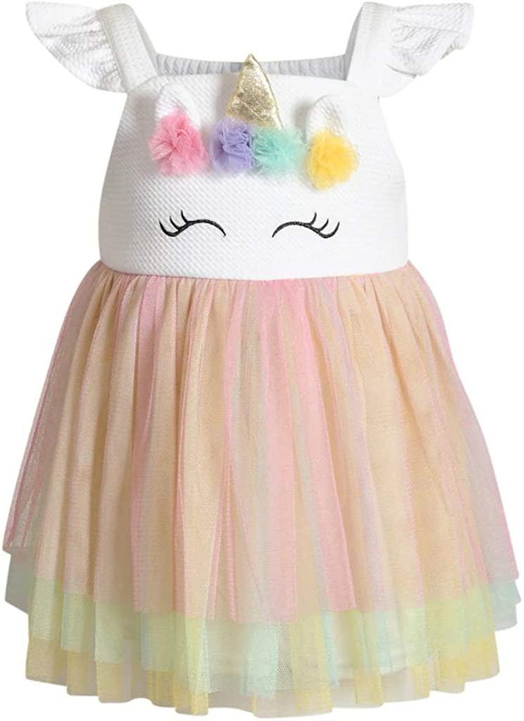 Youngland Baby Girl's Dress - Sleeveless Tutu Sundress