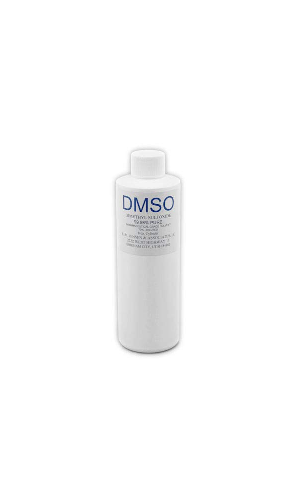 Pharmaceutical Grade DMSO DILUTED to 70% 8 OZ Bottle