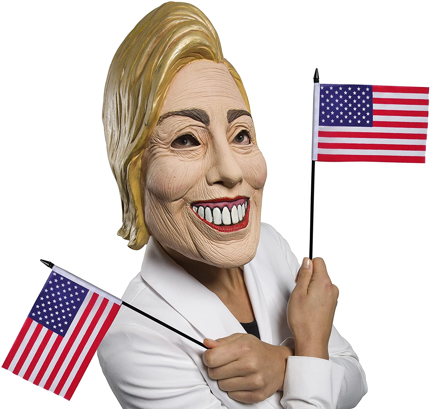 Rubie's Women's Famous Faces Political Mask Hillary