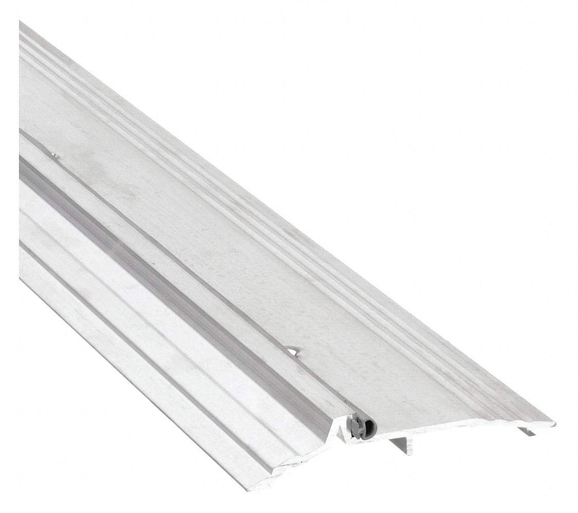 National Guard Threshold Smooth/Fluted Top 6 ft. Alum