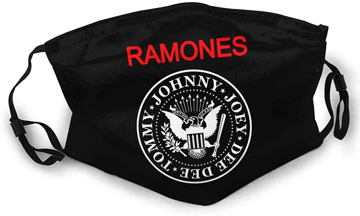 Ramones Adult Outdoor Sports Windproof Dustproof Face Towel Headscarf Scarf Sunscreen