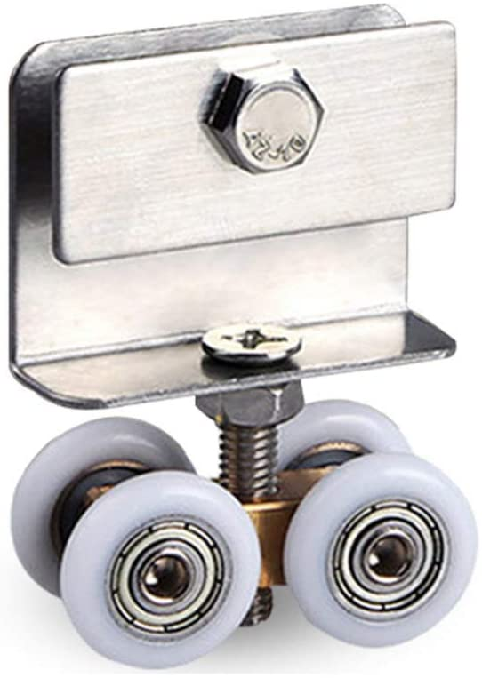 Furniture Casters/Castor (10/20/30pcs),Shower Room Pulleys,Bathroom Glass Door Hanging Wheels,Sliding Door Rollers,Applicable Thickness: 6-10mm / As Shown / 30pcs