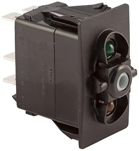 K4 OFF-ON 1-ON 1+2 Contura II, III, V Switch Two LED - Grn/Amb