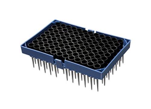 Axygen HTF-300-CBK-HTR-S Polypropylene Automation Tips for STAR, STARlet, STARplus and Nimbus Workstations, 300µL Capacity, Liquid Level Sensing, Filtered, Sterile, Hanging Tip Rack (Case of 2304)