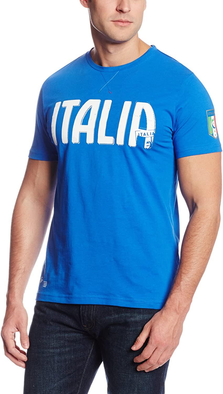 PUMA Men's FIGC Italia Graphic Tee