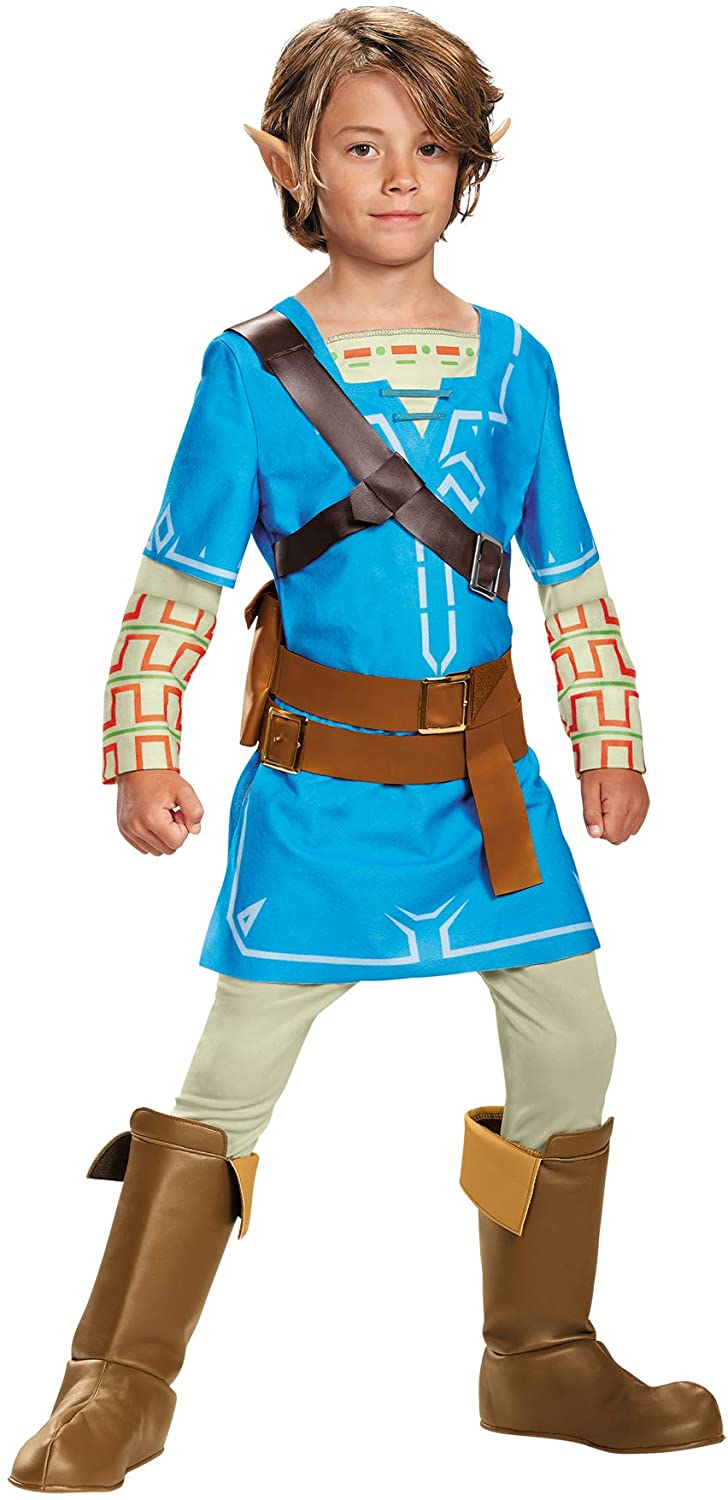 Boys Link Breath of The Wild Deluxe Outfit Child Halloween Costume