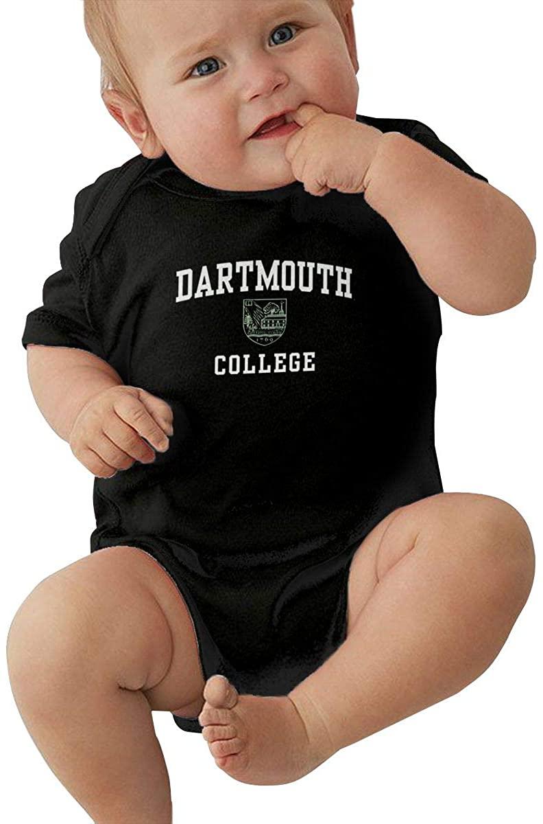 Pjj Dartmouth Indians Baby Climbing Clothes Short Sleeved Comfortable Soft Cotton 100%