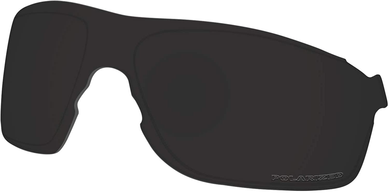 Lenses Replacement for Oakley EVZero Pitch Sunglass Polarized - Dark Black