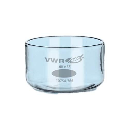 VWR 10754-778 Crystallizing Dish, 1200mL Capacity, 150mm Diameter, 75mm Height (Pack of 4)