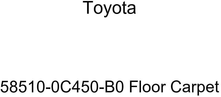 TOYOTA Genuine 58510-0C450-B0 Floor Carpet