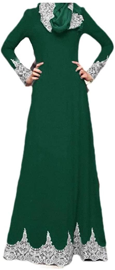 AngelSpace Womens Embroidered Dubai Islamic Fashion Muslim Classy Kaftans