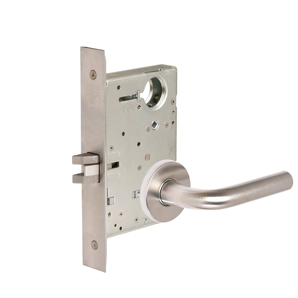 CORBINRUSSWIN ML2060-RWA-630 630 Satin, Lever RWA Regis, Privacy/Bed/Bath, Steel; Stainless Steel