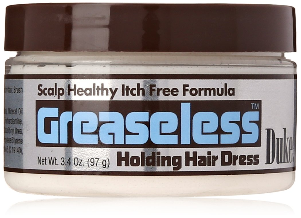 Duke Greaseless Holding Hair Dress | Softens Shines and Rejuvenates Your Natural Curl Pattern, 3.4 Oz