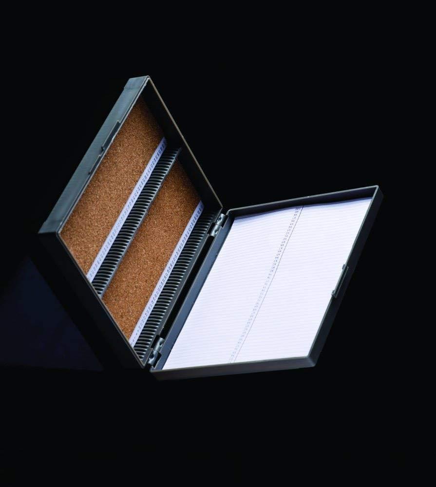 United Scientific Supplies P90104 Slide Storage Box, 50 Places (Pack of 6)