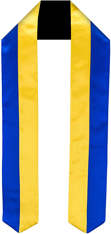 Ukraine Flag Graduation Sash/Stole International Study Abroad Adult Unisex