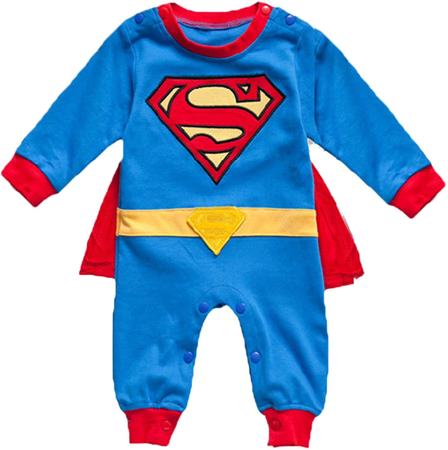 VogueFashion Baby Superhero Jumpsuit