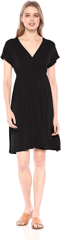 DHgate Essentials Women's Surplice Dress