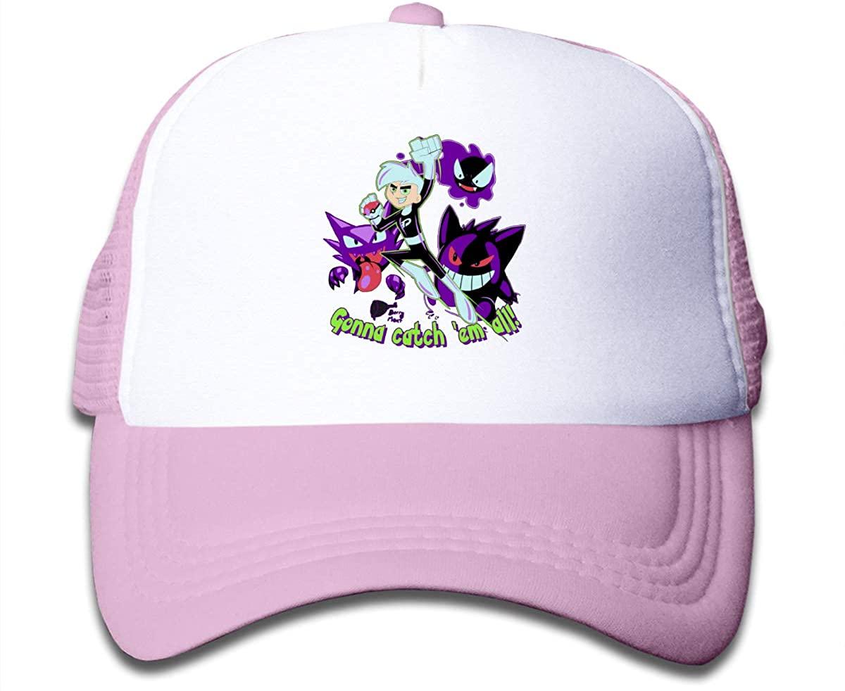 NYF Boys Girls Baseball Caps Snapback Kids Children Tennis Sports Mesh Cap Adjustable Trucker Hat
