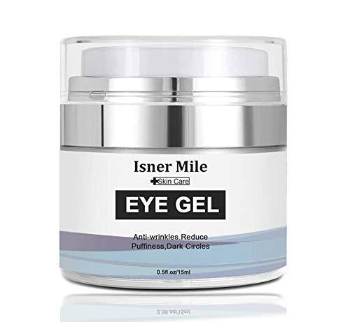 AJUMKER Anti-Aging Eye Cream Oil-Free Formula Eye Gel for Dark Circles Wrinkles Puffiness Moisturizing Eye Cream Hyaluronic Acid Gel