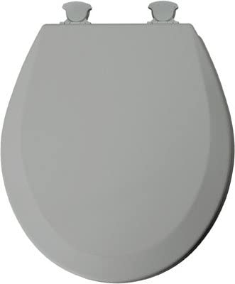 Mayfair Toilet Seat Molded Silver