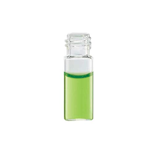 Wheaton Science Products 224627 Clear Borosilicate Glass E-Z Vial, Screw Top, Step, Patch, 1.8 mL Capacity (Case of 1000)