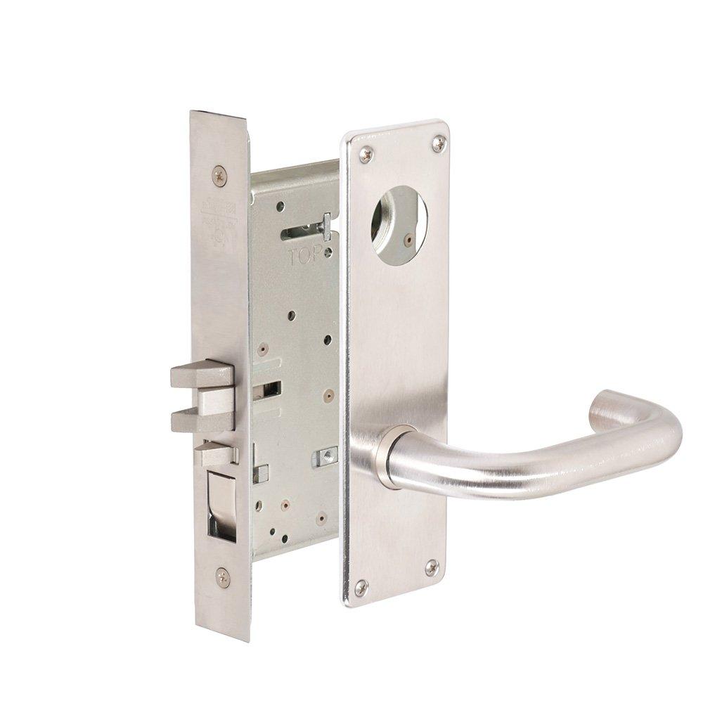 CORBINRUSSWIN ML2051-LWN-626-LC 626 Satin Chrome, Lever LWN Lustra, Entrance/Entry/Office, Steel; Stainless Steel; Brass