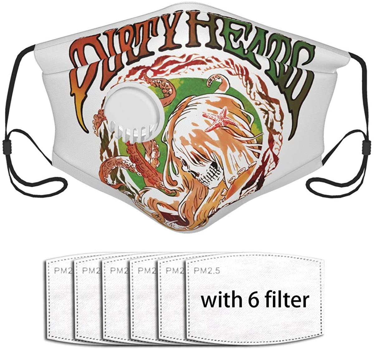 D-I-R-T-Y Heads Dust With A Valve Is Soft Breathable Water-Repellent And The Buckle Can Be Adjusted For Tightness