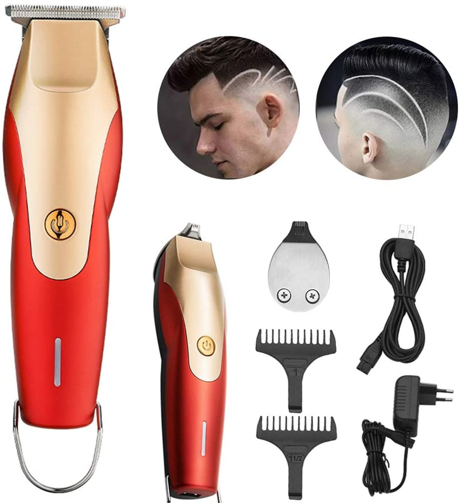 EMGOD 2 in 1 Hair Clippers,Hair Clippers for Men,Strong Power Large Capacity Battery LED Display Light Dual Power Supply