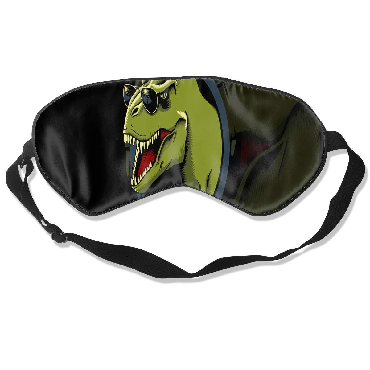 Custom Sleeping Mask Funny Dinosaur Adjustable Breathable Sleep Mask/Sleeping Eyes Mask/Sleep Eyes Mask/Eyeshade/Blindfold