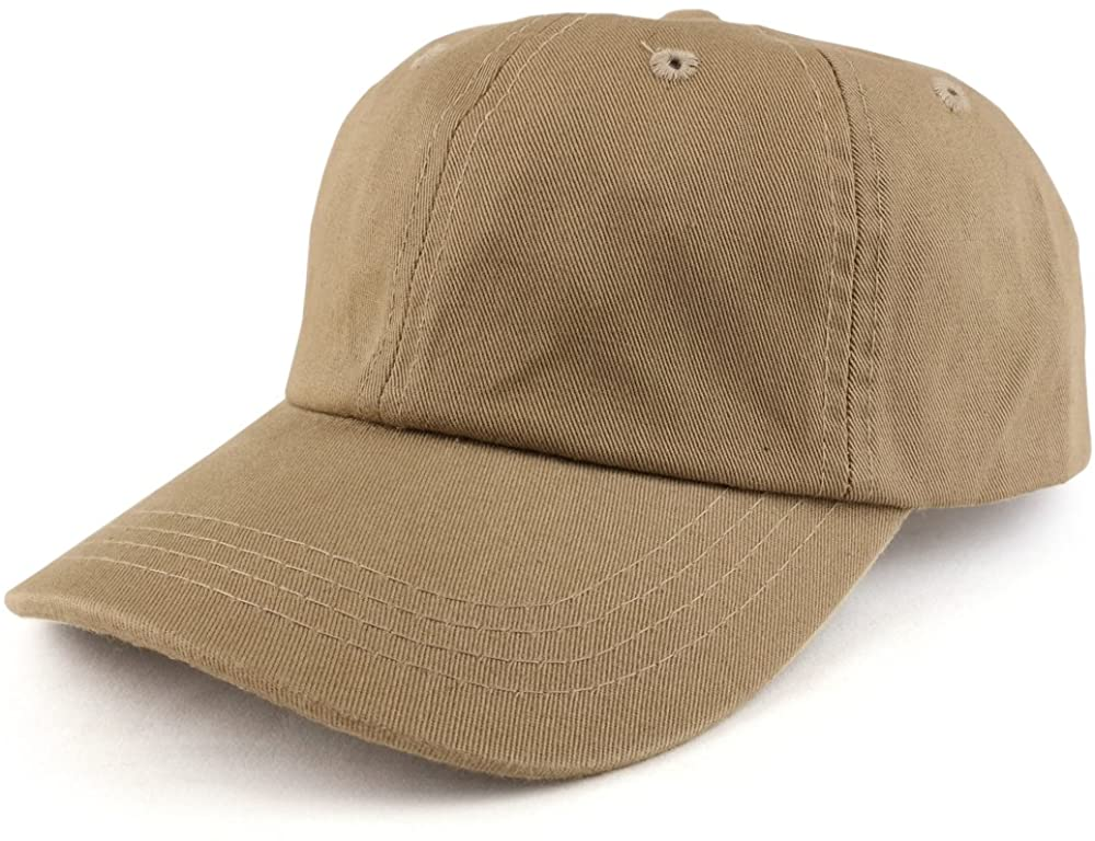 Trendy Apparel Shop Youth Size Kid's Cotton Adjustable Unstructured Baseball Cap