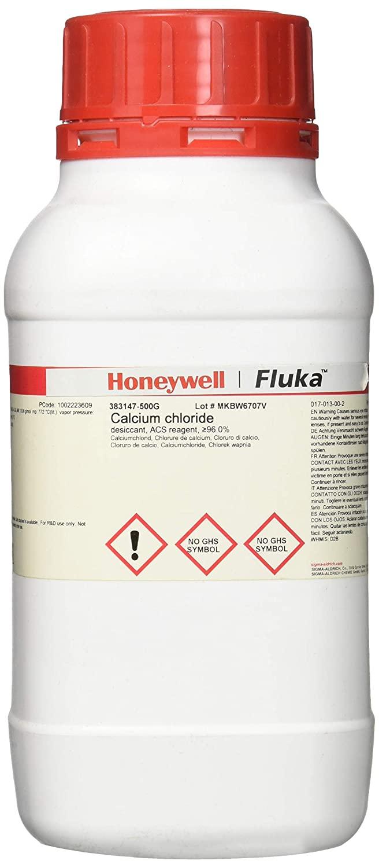 Honeywell 383147-500G Fluka Calcium Chloride Desiccant, ACS Reagent, 96.0%, 500 g