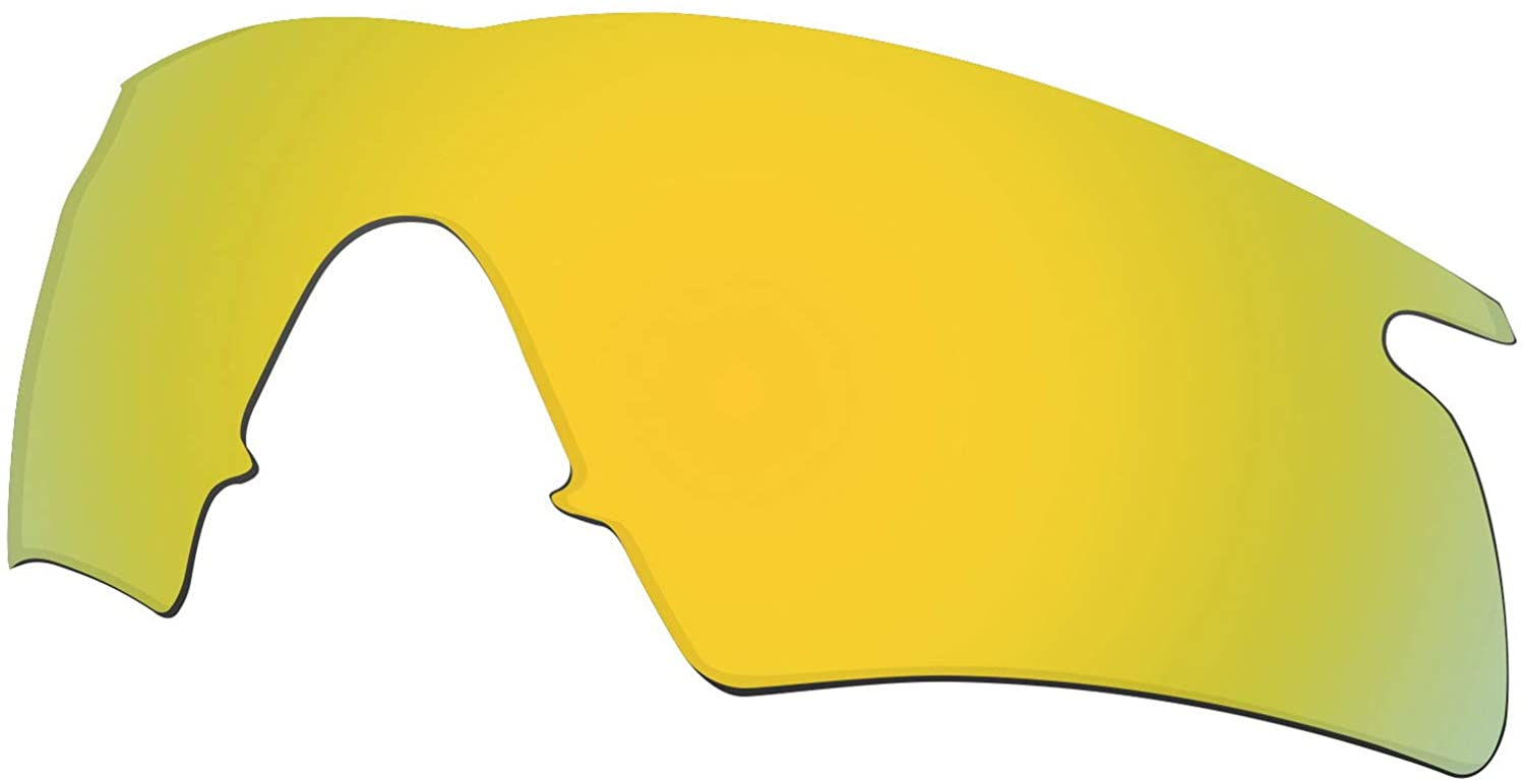 Lenses Replacement for Oakley M Frame Hybrid Sunglass Polarized - Gold Mirror