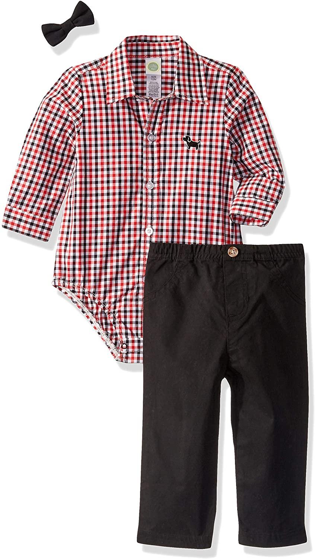 Little Me Baby Boy's Woven Pant Sets Shirt
