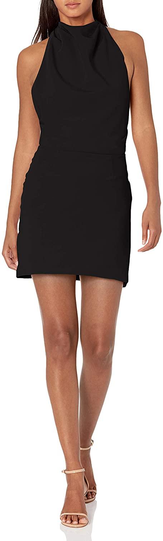 findersKEEPERS Womens Sleeveless Mae Mini Halter Dress