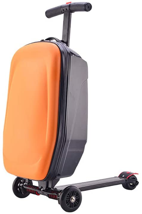 20 Scooter Luggage, Scooter Rolling Suitcase Trolley Luggage Carry on Airport Outdoor Baggage with Wheels for Business,Travel and School - US Shipping