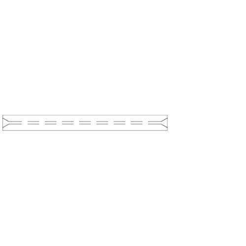 RESTEK 21715-210.5 Open Liner for Varian GCs Base Deact, 0.75 mm ID, 5.0 mm OD, 54 Length (Pack of 5)
