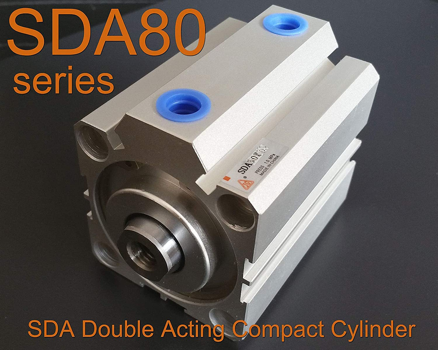 SDA100x70 Pneumatic SDA100-70mm Double Acting Compact AIR Cylinder