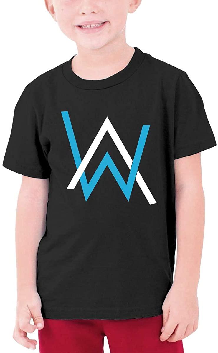 Hangquq T Shirts Youthalan Walker Round Neck Shirt Teenager Boys Personality Teens
