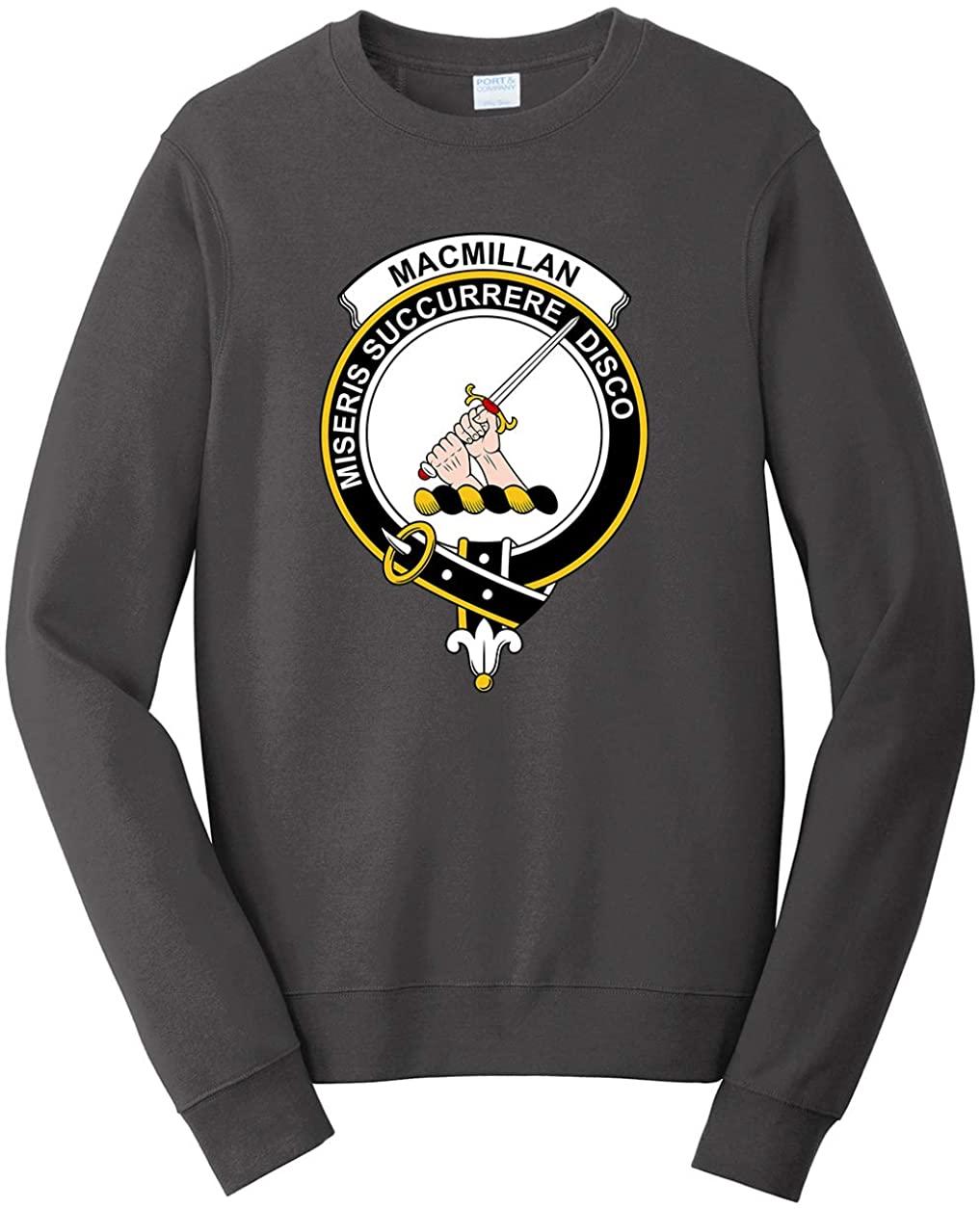 Tenacitee Unisex Scottish Clan Crest Badge MacMillan Sweatshirt